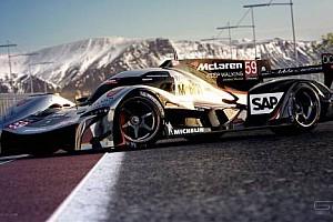 ALMS Son dakika McLaren için çarpıcı LMP1 konsepti