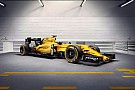 Renault F1 представила ліврею 2016