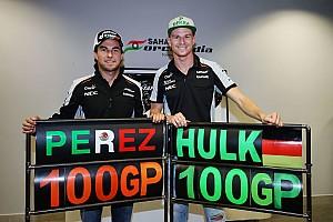Fórmula 1 Galería Galería: festejo de los 100 GP de Sergio y Nico