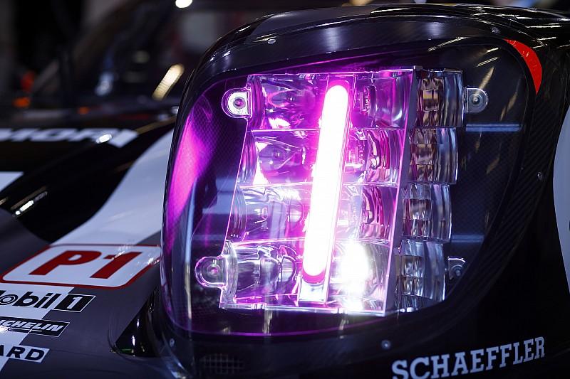 Anche un nuovo sistema di led sulla Porsche per Le Mans