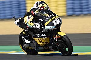 Moto2 Relato de classificação Dominante, Luthi sai na frente na França