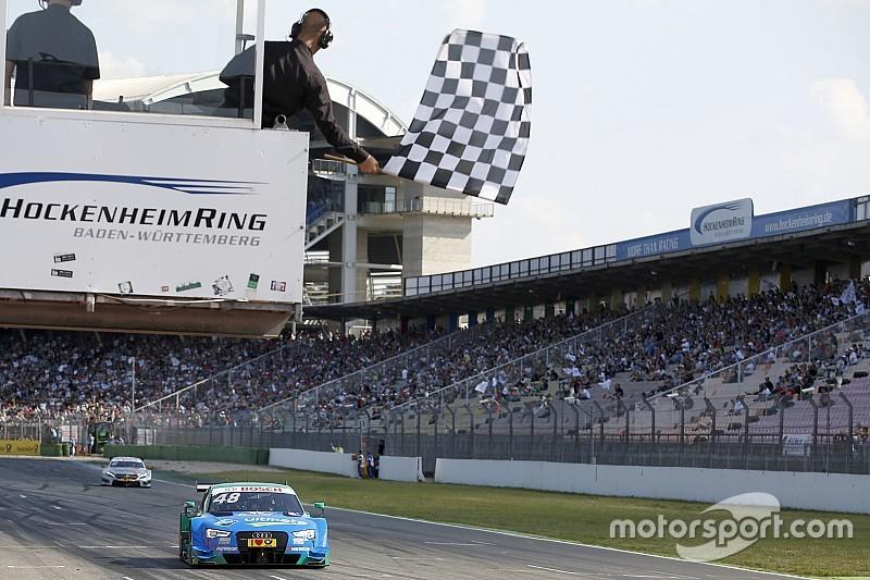 DTM in Hockenheim: Edoardo Mortara gewinnt turbulentes Auftaktrennen für Audi