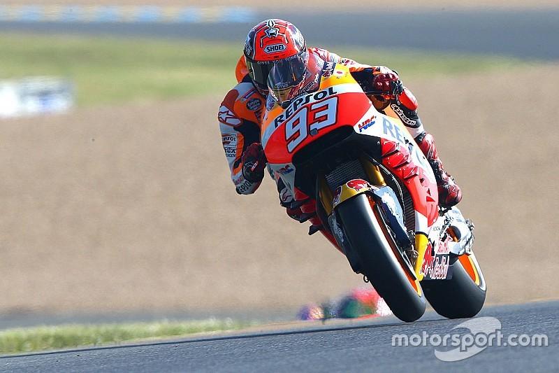 """Marquez: """"Soffriamo molto in accelerazione. Punto a finire sul podio"""""""