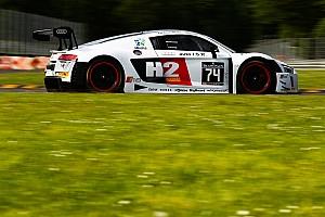 BSS Qualifiche Franck Perera porta l'Audi in pole a Brands Hatch
