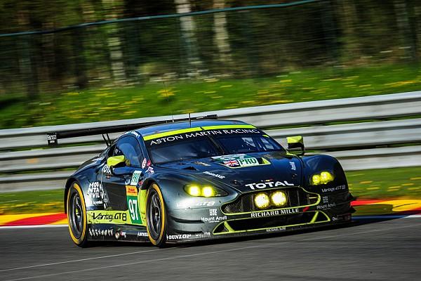 Des satisfactions et une frayeur pour Aston Martin à Spa