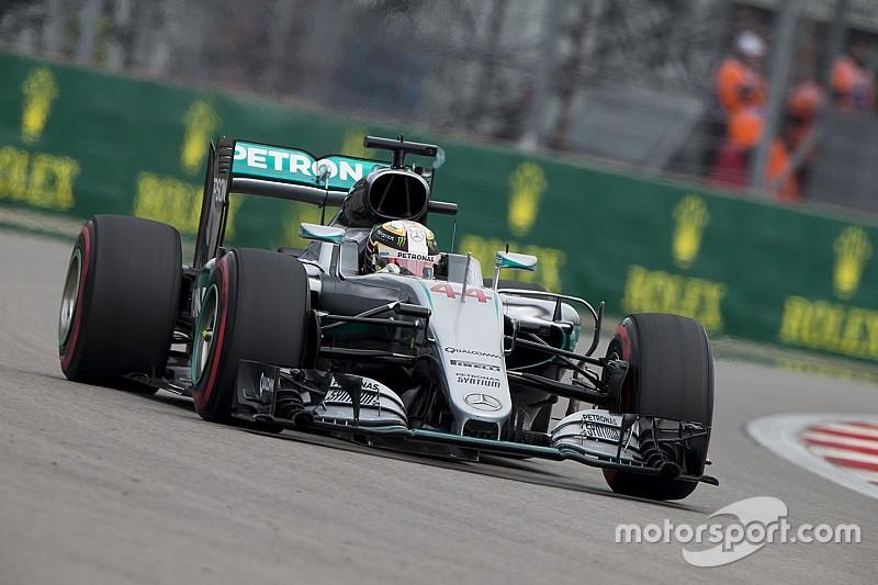 Mercedes siente que están decepcionando a Hamilton