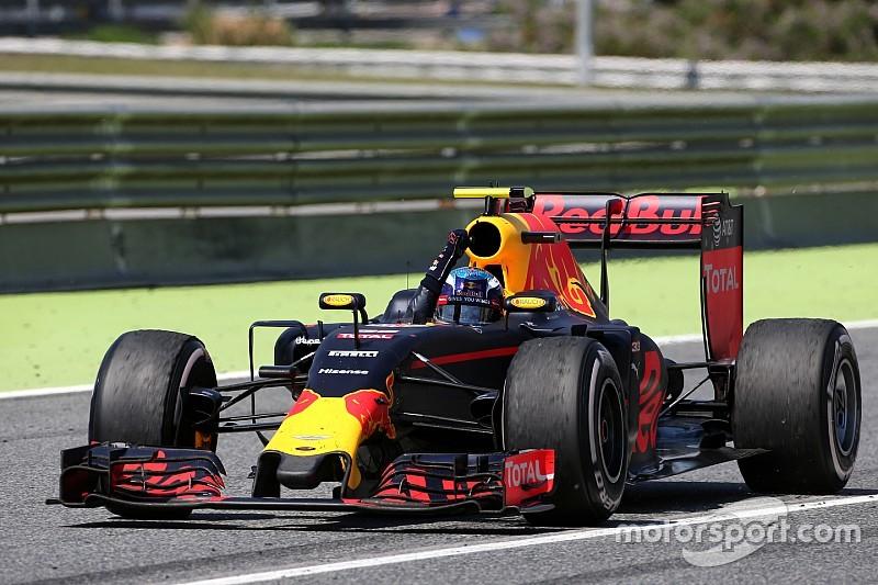 Bildergalerie: Der erste Formel-1-Sieg von Max Verstappen