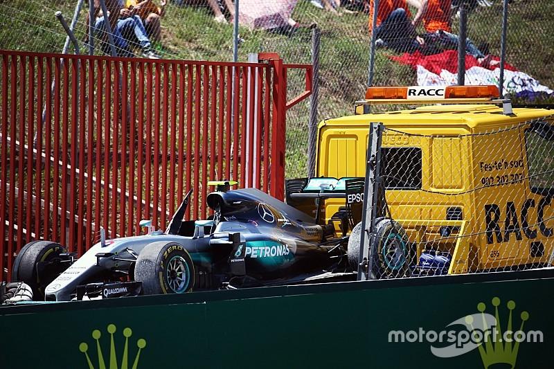 """Rosberg: """"Estaba delante y tenía la carrera para ganar"""""""