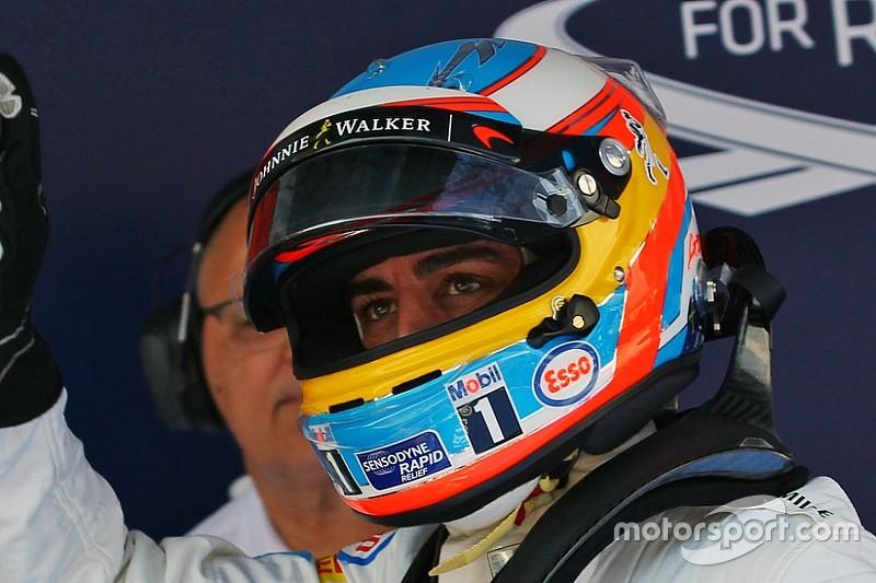 Alonso vuelve a la pista
