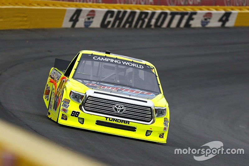 "Trucks Charlotte: Matt Crafton siegt erstmals ""back to back"""