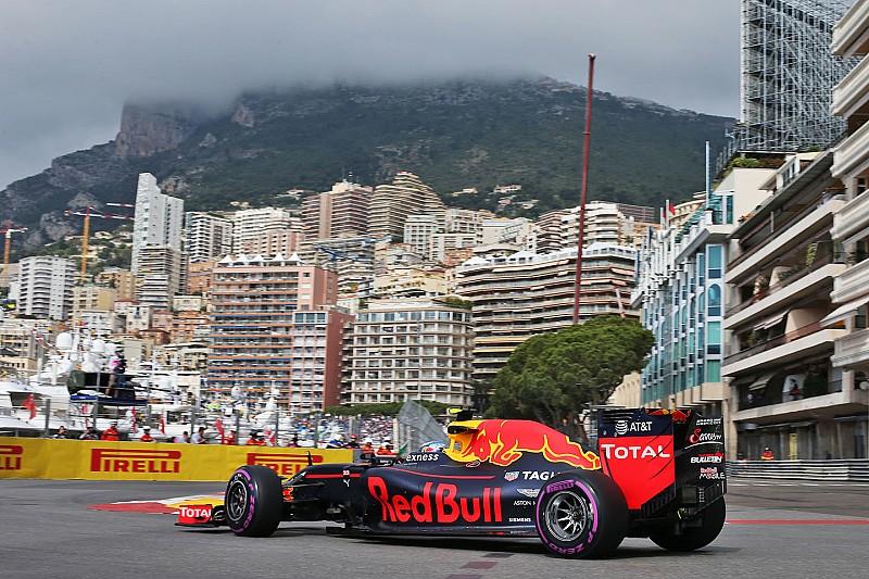 Verstappen klokt vijfde tijd in incidentrijke eerste training Monaco