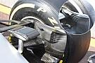 Технический брифинг: передние тормозные воздухозаборники Mercedes W07