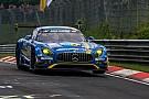 ニュルブルクリンク24時間予選:9号車メルセデスAMG GT3がPP獲得