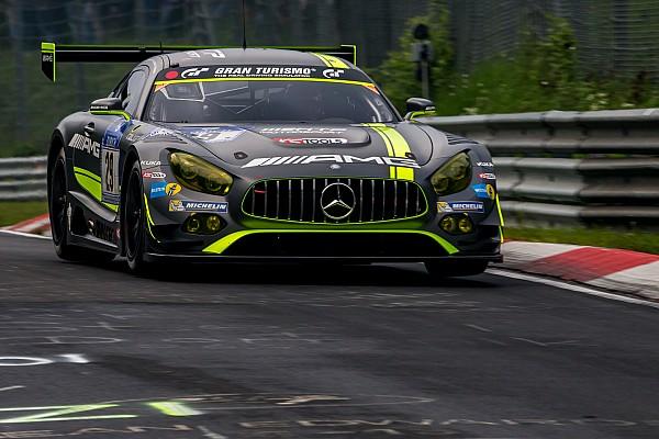 ニュル24時間はあと2時間。メルセデスAMG GT3の4台による優勝争い