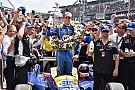 Rookie Alexander Rossi triumphiert beim 100. Indy 500