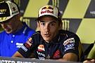 """Márquez: """"Mi corazón me dice quedarme en Honda aunque sufra con la moto"""""""