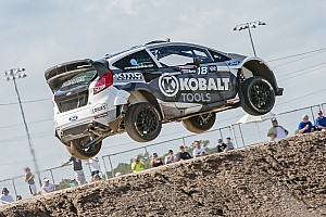 Global Rallycross Race report Patrik Sandell wins Global Rallycross Dallas