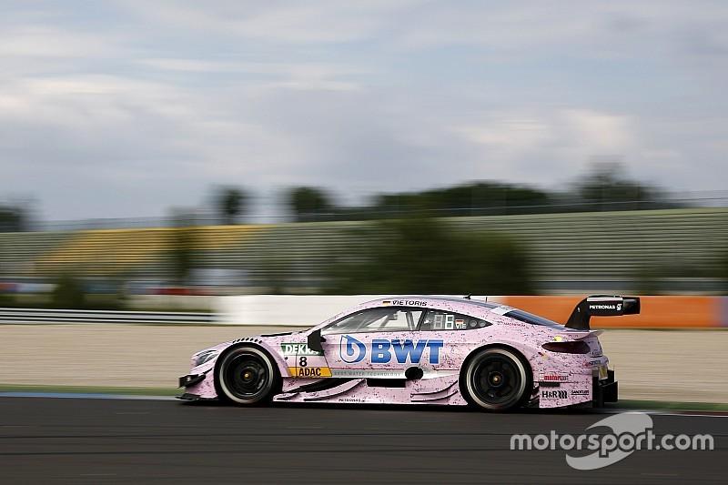 DTM Lausitzring: Mercedes-Bestzeit durch Vietoris im 3. Training