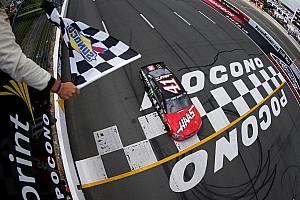 Monster Energy NASCAR Cup Yarış raporu Kurt Busch özlediği yerde