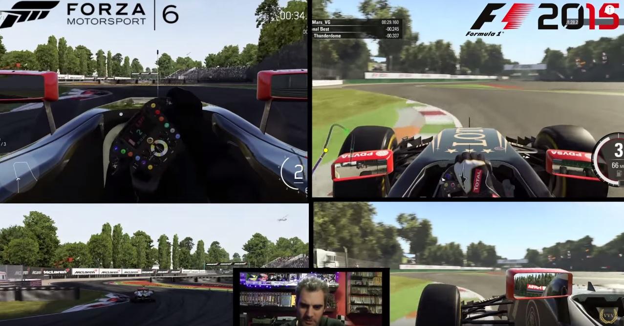 Forza Motorsport 6 Vs. F1 2015