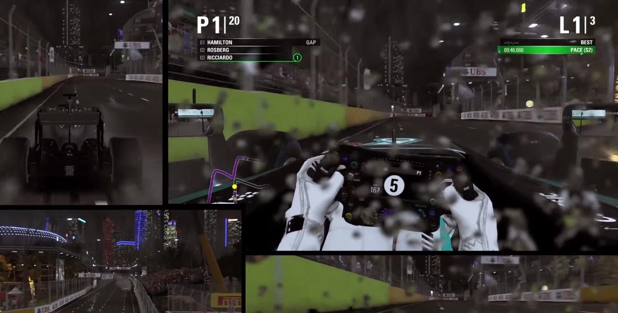 F1 2015: Különböző kameraállásokból a játék! (PS4)