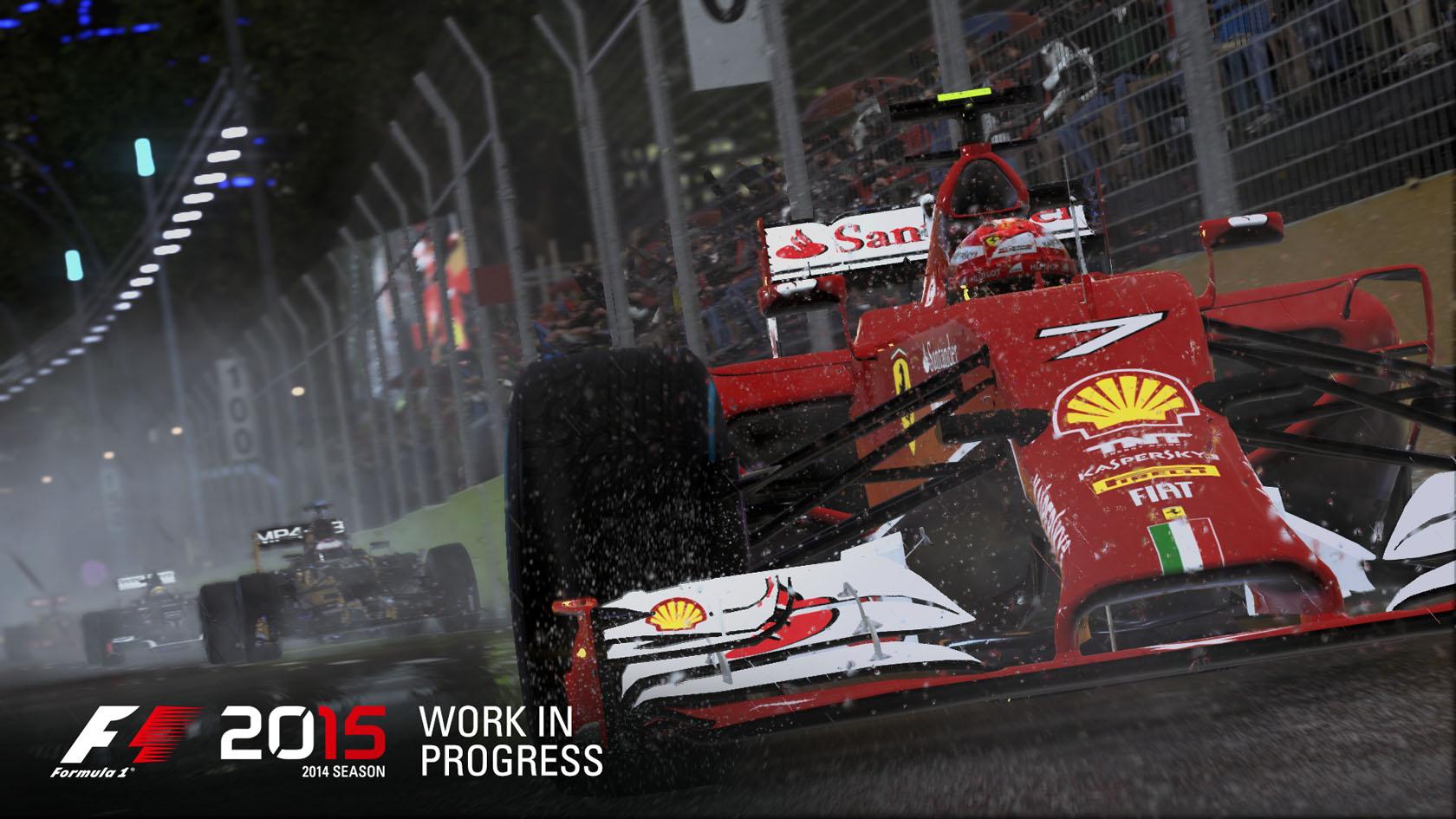 F1 2015: Ezeket a kormányokat és kontrollereket támogatja a játék