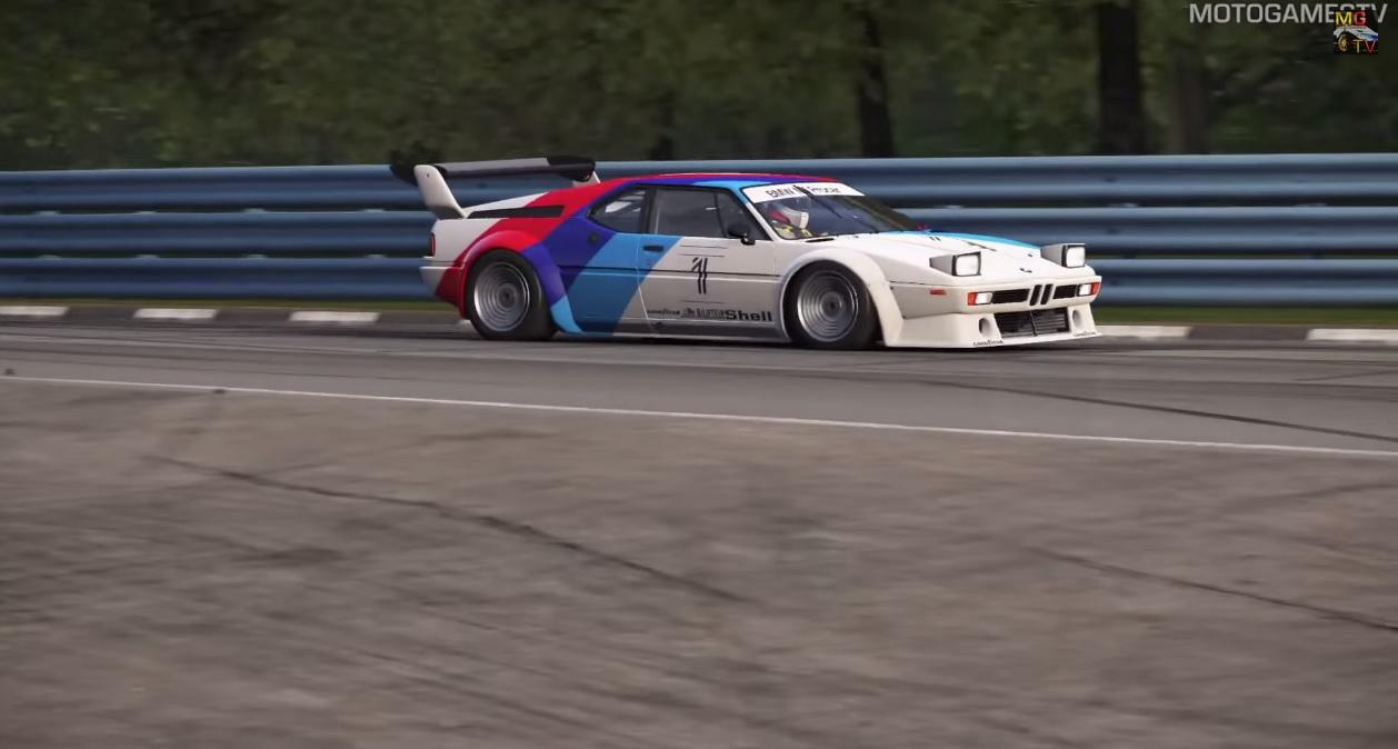 Project CARS: Egy igazi legenda a játékban – BMW M1 Procar
