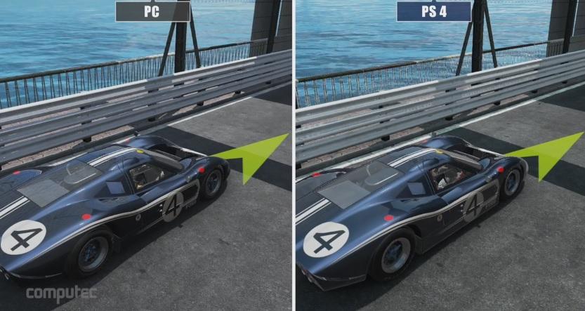 Project CARS: Grafikai összehasonlítás! PC Vs. PS4!
