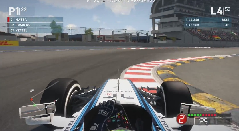 F1 2014: Ebben a játékban még Massa is futamot nyerhet! Élethű?