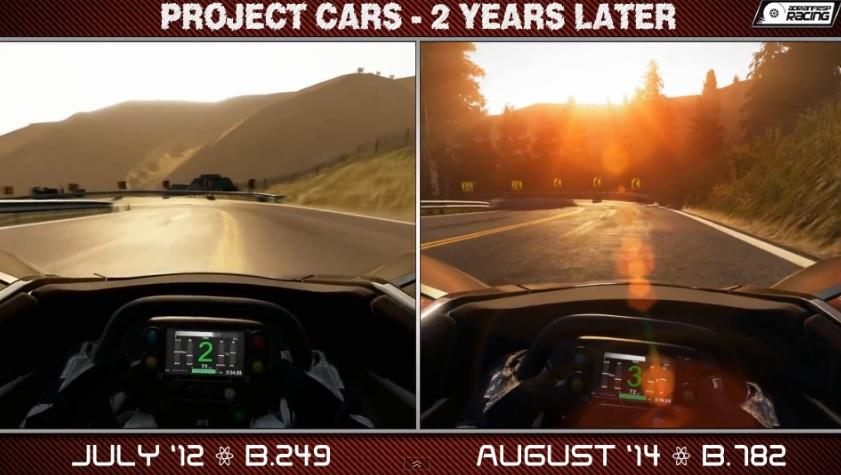 Project CARS: Ennyit fejlődött a játék két év alatt