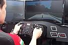 Ilyen, amikor Michelisz Norbi formula autót vezet a virutális Monzában, egy modern szimulátorban
