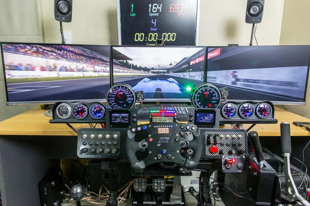 Egy otthoni szimulátor, amitől még Alonso, Hamilton és Vettel is lehidalna