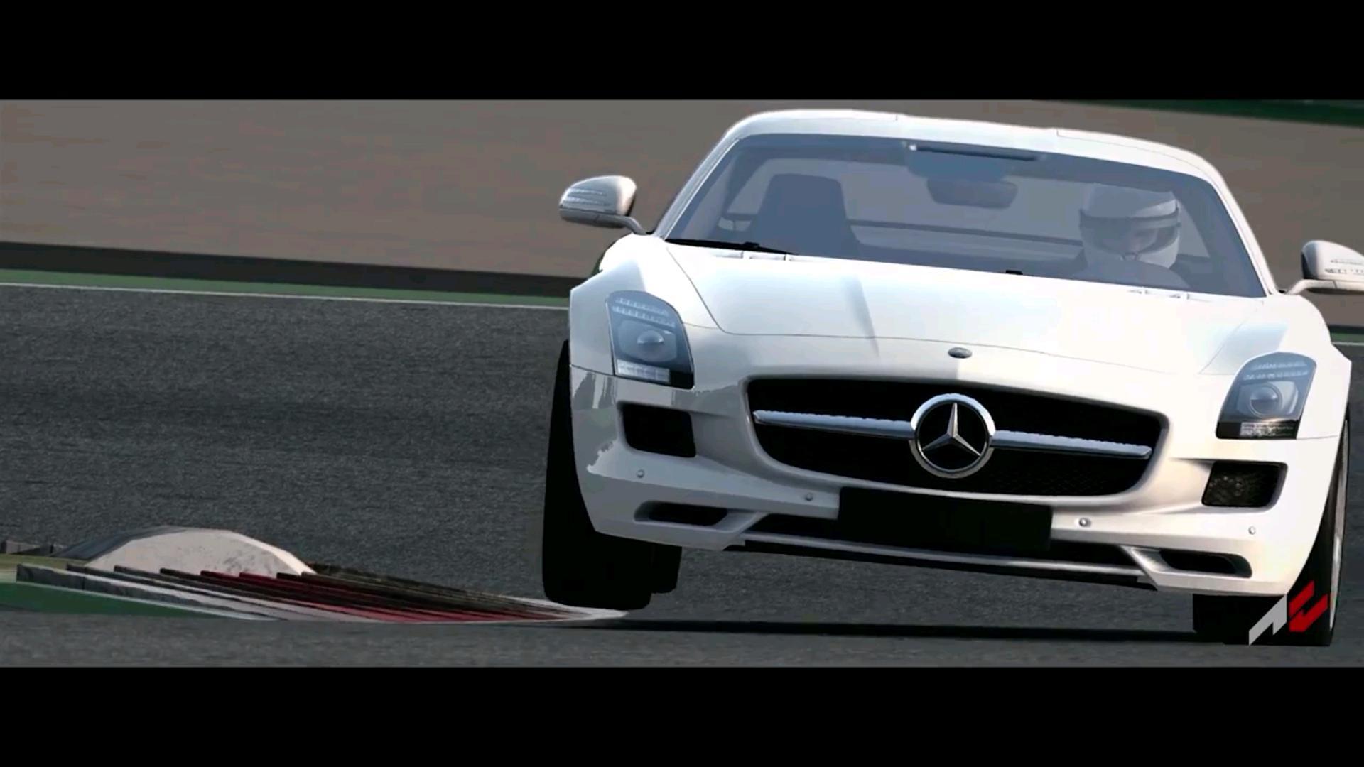 Assetto Corsa: Megérkezett a Mercedes-Benz SLS AMG a játékban