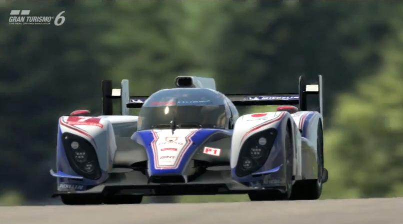 Gran Turismo 6: Toyota TS030 Hybrid a Red Bull Ringen