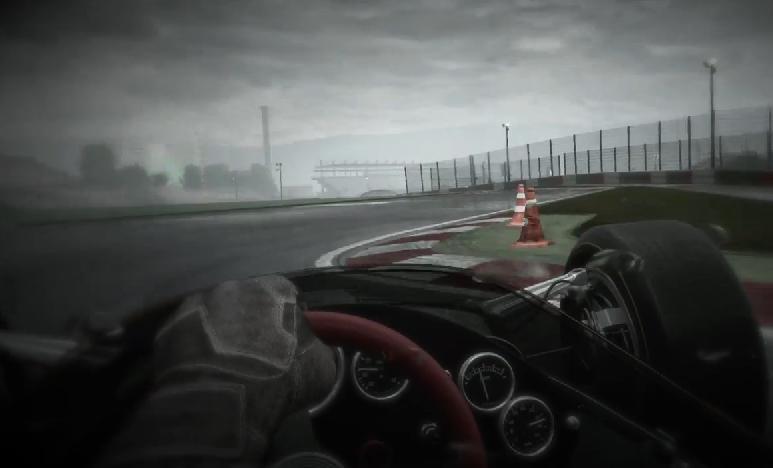 Project CARS: Lenyűgöző grafikai élmény az esős Suzukában