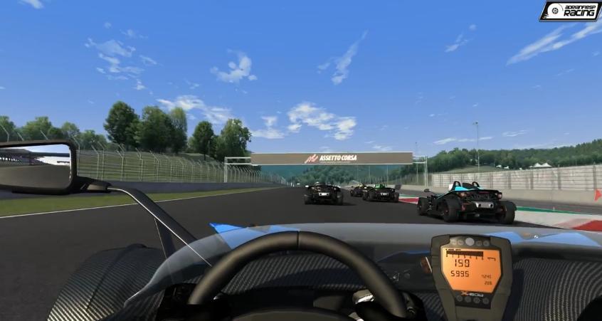 Assetto Corsa: Csapatás egy KTM X-Bow R-rel