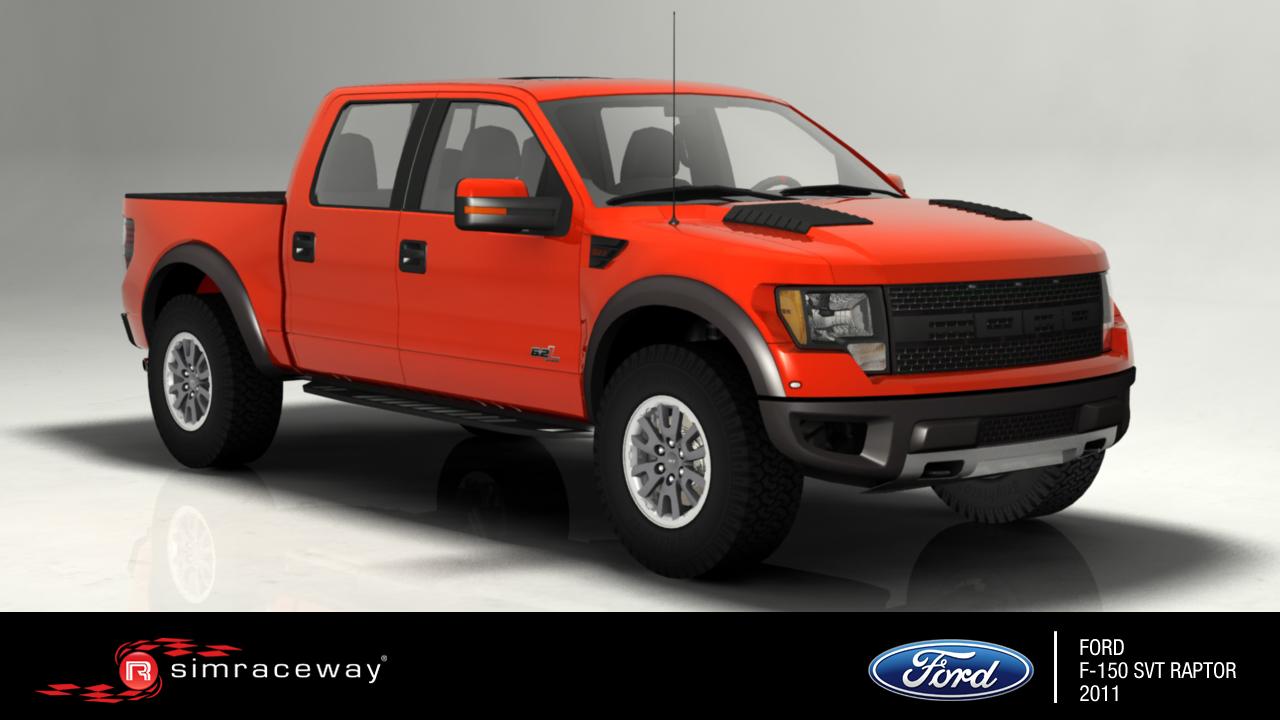 Simraceway: Korzózás egy Ford F-150 SVT Raptorral