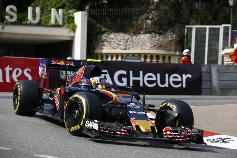 Nagyon erős a Toro Rosso Monacóban: Kvyat és Sainz meglepetést okozhat