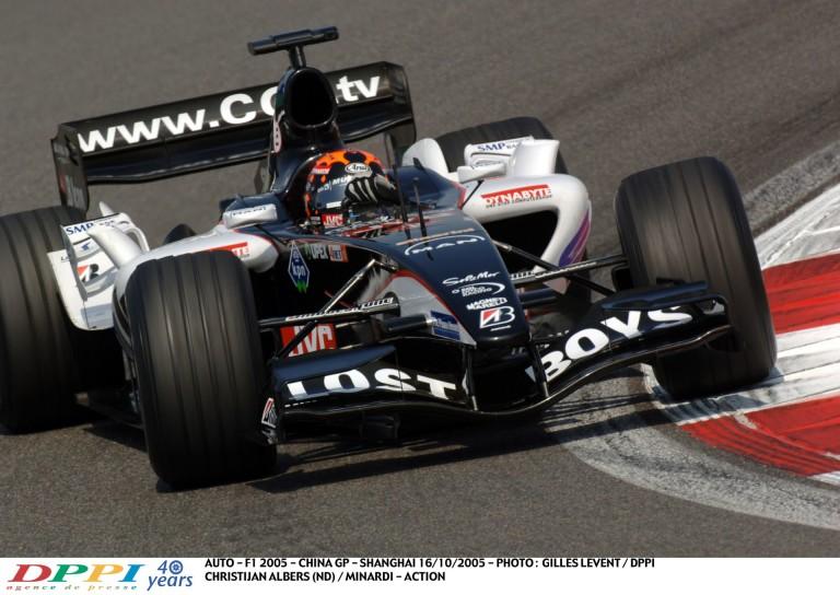 A Minardi történetének utolsó F1-es időmérő edzése