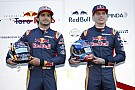 Óriási: futóverseny Sainz és Verstappen között a Toro Rosso gyárában