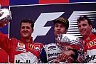 19 éve a Forma-1-ben: Frentzen első győzelme, Herbert 100. és Berger 200. nagydíja