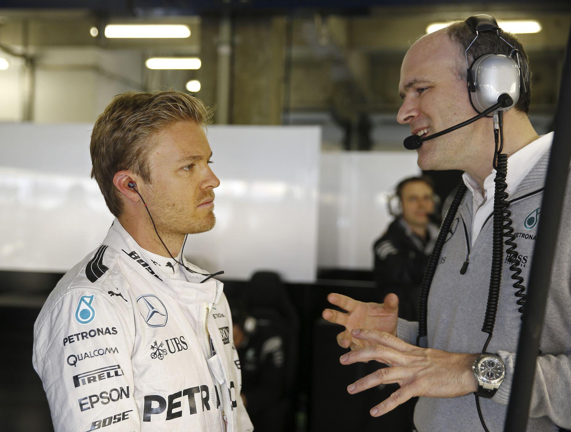 Rosberg tudja, hogy idén még 450 pont szerezhető, így messze még a bajnoki címe...