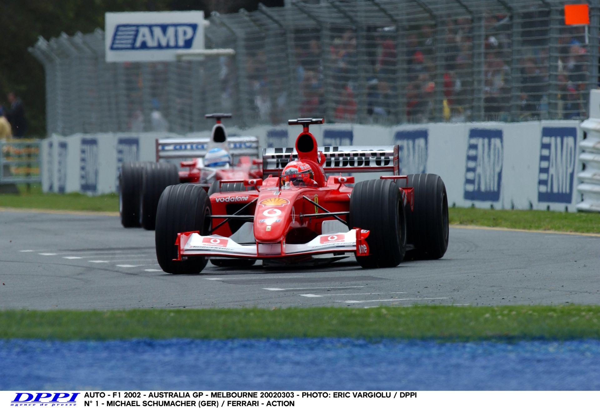 Schumacher Vs. Montoya Vs. Trulli: Ausztrál Nagydíj 2002