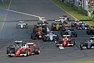 Egyszerre négy belső kamerás felvételen a start: Vettel, Hamilton, Button és Grosjean