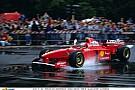 19 évvel ezelőtt Schumacher a Ferrarival: egy szenzációs F1-es felvétel