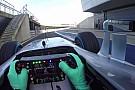Minden remekül zajlott a Mercedes mai forgatásán, megbízható az autó