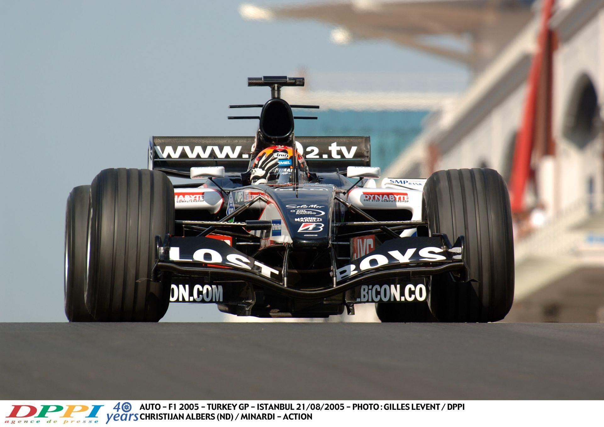 Minardi és az utolsó év a Forma-1-ben: V10-es búcsú