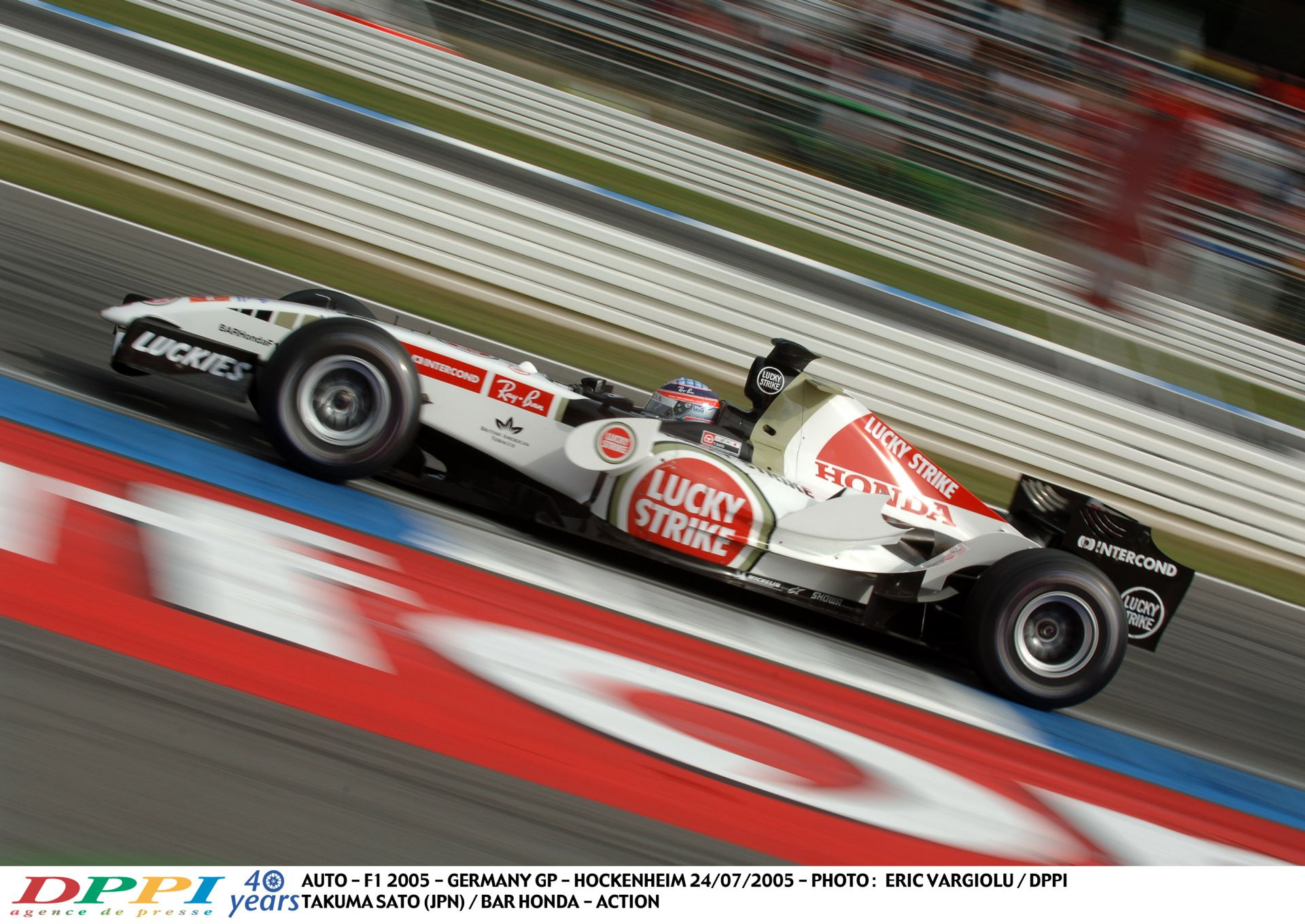 Sato repül, szárnyal, fénysebességre kapcsol a Hondával: 2005, Hockenheim