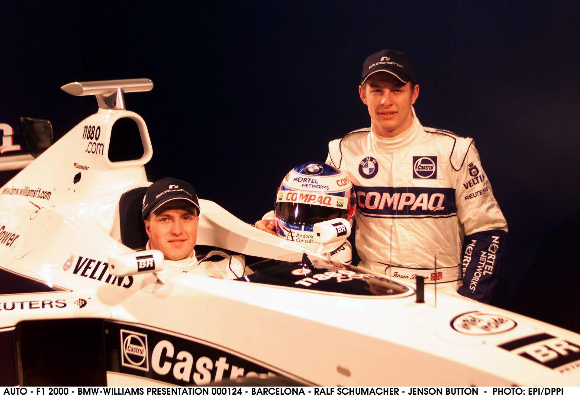 2000-ben ezen a napon jelentette be a Williams Button szerződtetését