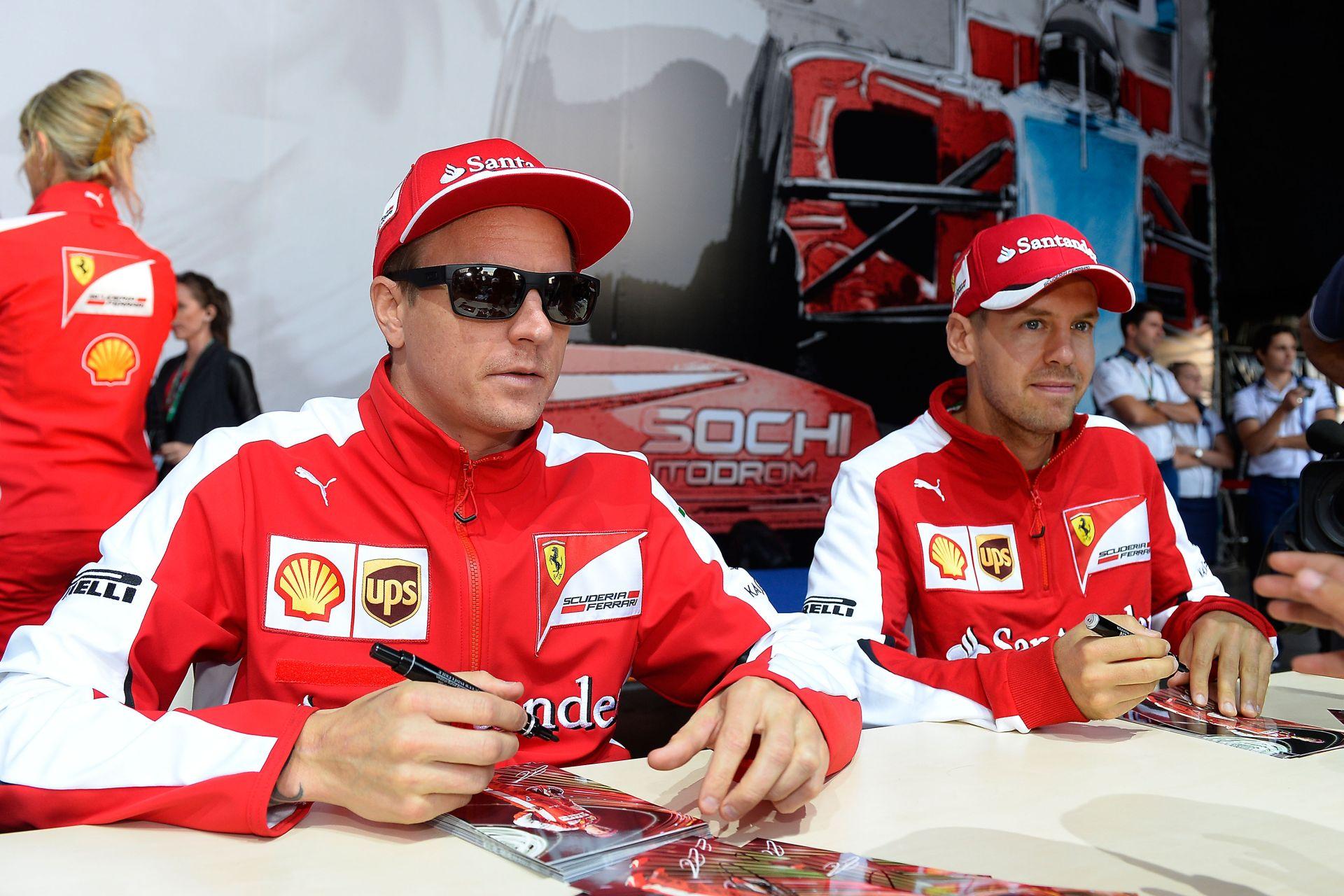 50 millió dollárt kaszált Vettel az első ferraris évében az F1-ben: Raikkönen alapbére csak 7 millió
